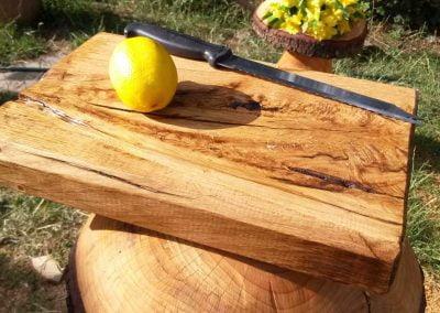 Handmade wood chopping board